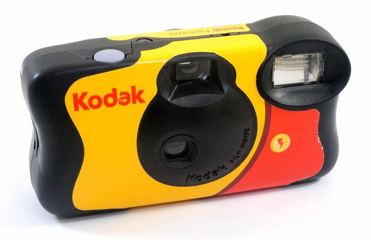 Kodak desechable sigue siguiendo a sus seguidores