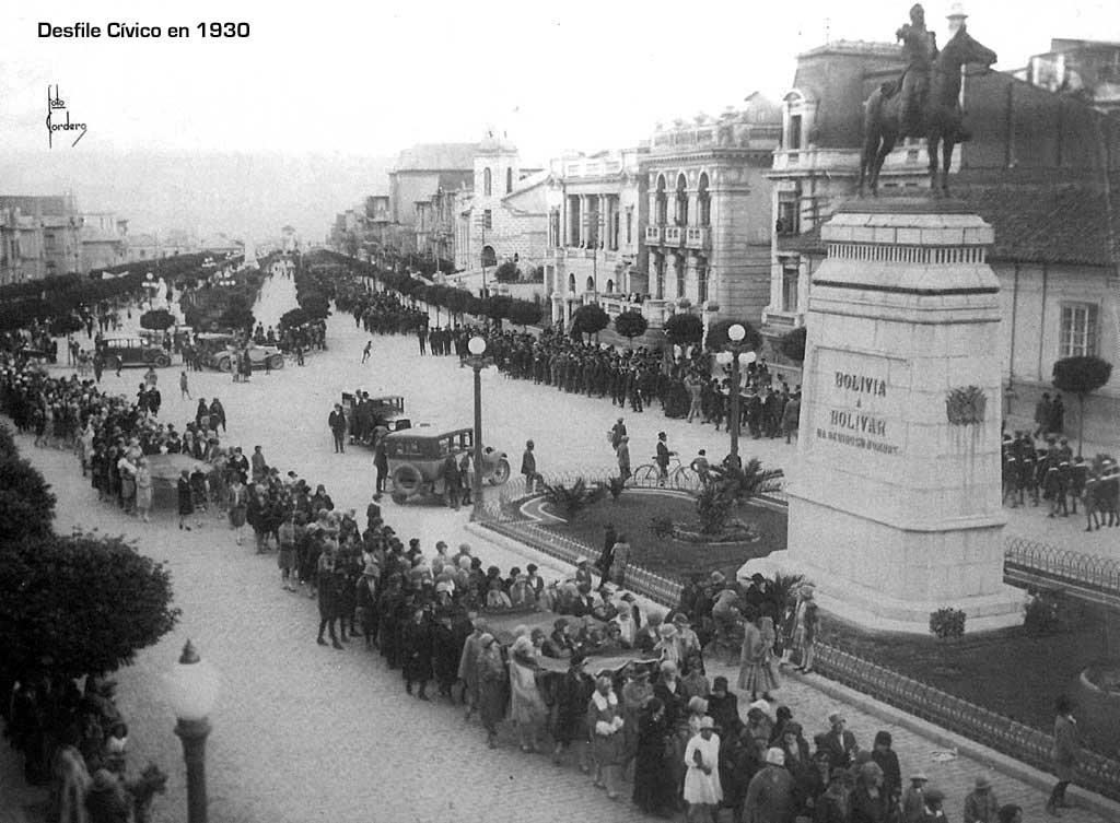 En 1910, la zona rural de La Paz se convirtió en el casco urbano