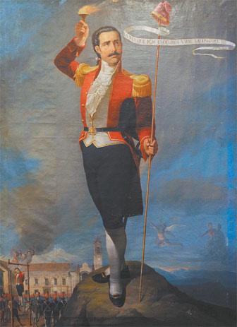 Pedro domingo Murillo, reconstruir su figura