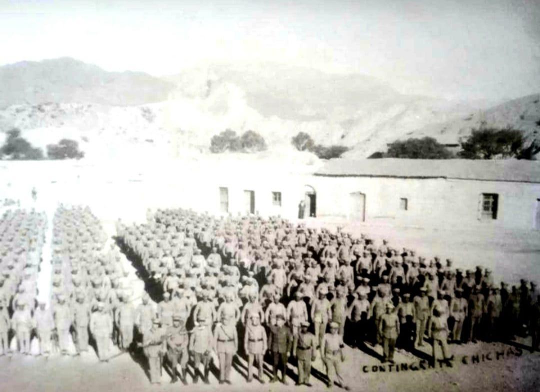 Regimiento de Tupiza en la guerra del Chaco