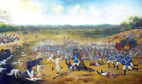 Warnes y la Batalla del Pari